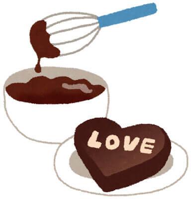 free-illustration-valentine-tedukuri-chocolate