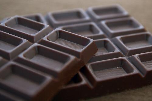 チョコをゆっくりじっくり食べる