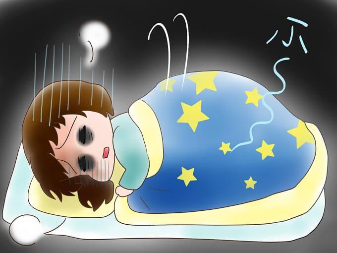 眠れない夜を「寝れちゃう夜」にする3つの方法♪